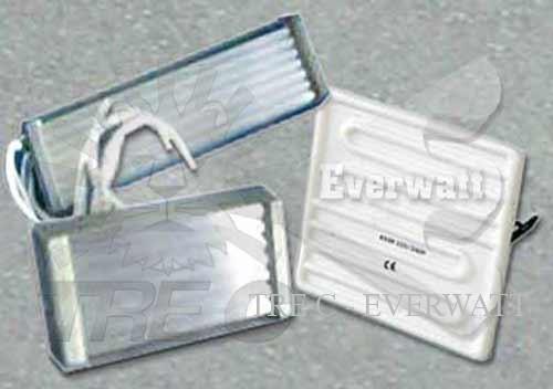 Resistores de cuarzo infrarrojos