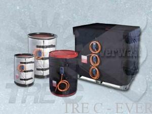 Riscaldatori e Coperte Termiche per fusti, barili e contenitori IBC