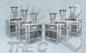 Conductos de aire Calentadores eléctricos con cabeza de conexión ATEX a prueba de explosiones
