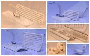 Calentadores infrarrojos de cerámica