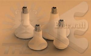 Bulbos infrarrojos de cerámica